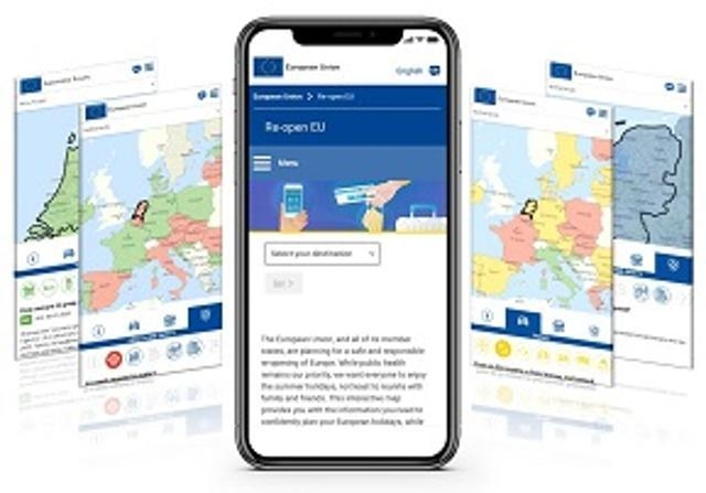 "EUROPEAN COMMISSION LAUNCHES ""REOPEN EU"" WEBSITE"