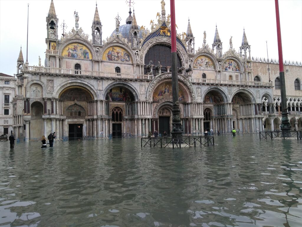 VENICE'S MOSE SYSTEM PREVENTS FLOODING FOR FIRST TIME