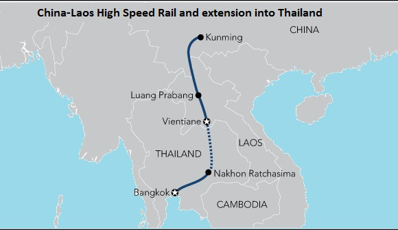ALL LAOS TO BE CONNECTED BY RAIL IN 2021