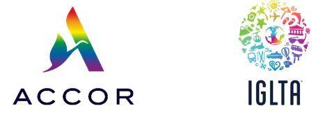 Accor and LGBTQ+ logos