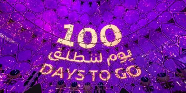 Expo Dubai 2020 began the 100 day countdown last month