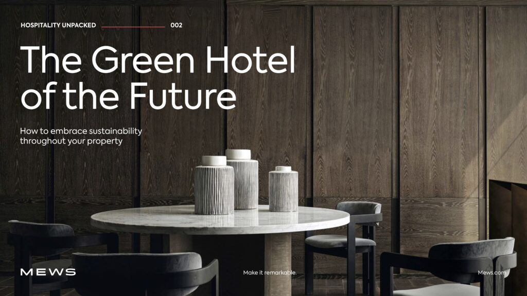 Green Hotel of the Future guide