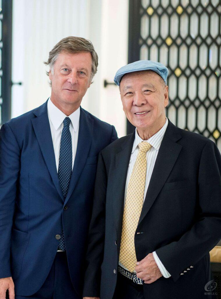 Raffles comes to Macau - meeting of two leading executives