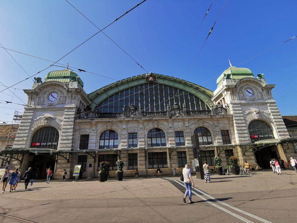 Basel Central Rail Station