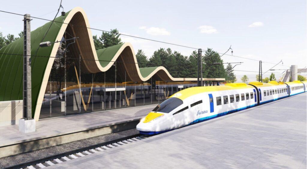 Rail Baltica High Speed Train