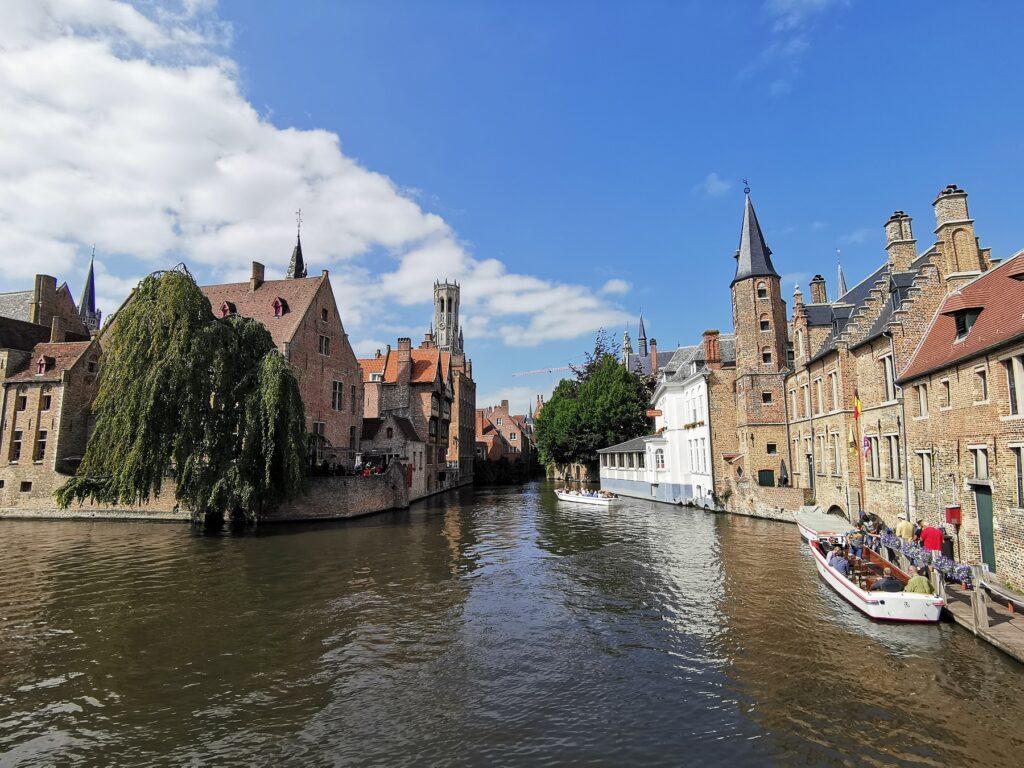 Bruges historic old town